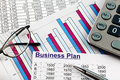 Business plan a for starting a ideas and strategies for self employment Stock Photos