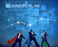 Business Plan Strategy Conceptualize Analytics Concept Royalty Free Stock Photo
