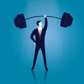 Business Power Strength Concept Royalty Free Stock Photo