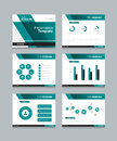 Business presentation and powerpoint template slides background design Royalty Free Stock Photo