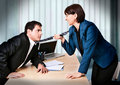 Business-rivalry 3 Royalty Free Stock Photography