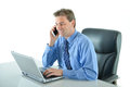 Business or sales man talking the phone Royalty Free Stock Photo