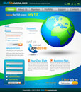 Business Solutions WebSite Template Stock Photos