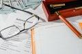 Business statistics, balance sheet