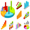 Business statistics vector Stock Photography