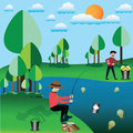 Business success concept,Businessman try to fishing ideas