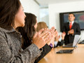 Business success - presentation Stock Photo