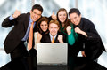 Business success team Stock Photography