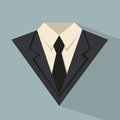 Business suit icon cartoon concept Stock Photos