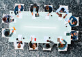 Business Team Board Room Meeting Discussion Strategy Concept Royalty Free Stock Photo