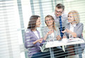 Business team contemporary people working in in the office Royalty Free Stock Image