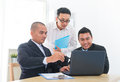 Business team discussion Stock Images