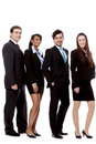 Business team diversity happy isolated Stock Photo