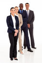 Business team full length Royalty Free Stock Photos