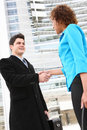 Business Team Handshake Royalty Free Stock Photography