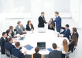 Business Team Meeting Seminar Training Concept. Handshake Royalty Free Stock Photo