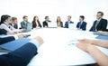 Business Team Meeting Seminar Training Concept Royalty Free Stock Photo