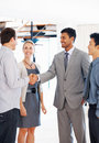 Business team shaking hands Royalty Free Stock Photography
