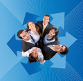 Business team together Royalty Free Stock Photo