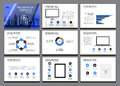 Business Template design set Presentation and brochure Annual report, flyer page with infographic element.