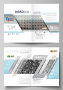 Business templates for bi fold brochure, flyer, booklet, report. Cover design template, vector layout in A4 size