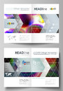 Business templates for bi fold brochure, magazine, flyer, booklet or annual report. Cover template, flat vector layout