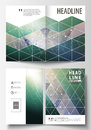Business templates for bi fold brochure, magazine, flyer, booklet. Cover design template, vector layout, A4 size