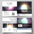 Business templates for square bi fold brochure, magazine, flyer, booklet or annual report. Leaflet cover, abstract