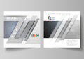 Business templates for square design brochure, magazine, flyer, booklet. Leaflet cover, vector layout. Colorful dark