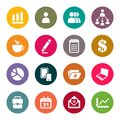 Business theme icons illustration Stock Photography