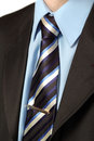 Business tie shirt and suit Royalty Free Stock Photo