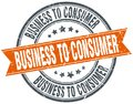 business to consumer stamp