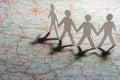 Business travel Стоковое Изображение
