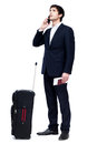 Business travel this image has attached release Royalty Free Stock Image
