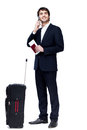 Business travel this image has attached release Stock Images