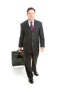 Business Traveler - Full Body Royalty Free Stock Photo