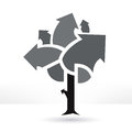 Business tree illustration