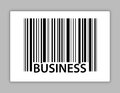 Business upc code Stock Photography