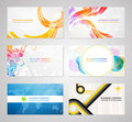 Business visiting card collection