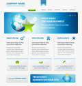 Business web site design template with Earth Stock Photos