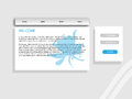 Business web site template vector Royalty Free Stock Photo
