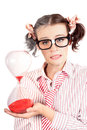 Business Woman Aging Old Quick With Stress Royalty Free Stock Photo