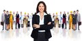 Business Woman And Group Of Wo...