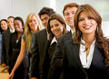 Business woman and her team Royalty Free Stock Photography
