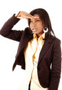 Business Woman Search Royalty Free Stock Image