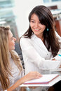 Business women in an office Royalty Free Stock Photography