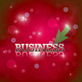 Business wording Royalty Free Stock Photo