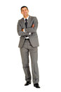 Businessman with arms folded Royalty Free Stock Photography