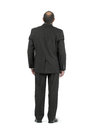 Businessman back view of standing Stock Photos