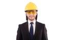 Businessman builder